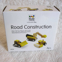 Mini Construction Set by Plan Toys, Ages 3+, Finely Detailed, Sustainable Wood