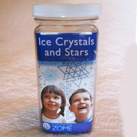 Ice Crystals and Stars Building Kit by ZOMETOOL -  Art & Science at Play - US made, Ages 8 - 12