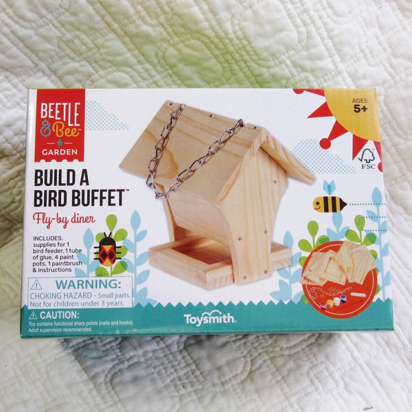"Bird Feeder Kit ""Build a Bird Buffet"", Ages 5+"