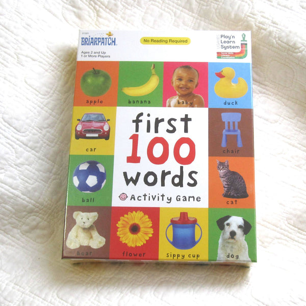 """First 100 Words"" Activity Game, Ages 2+"