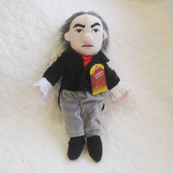 Beethoven Fun Plush Doll with Music Box by Unemployed Philosophers