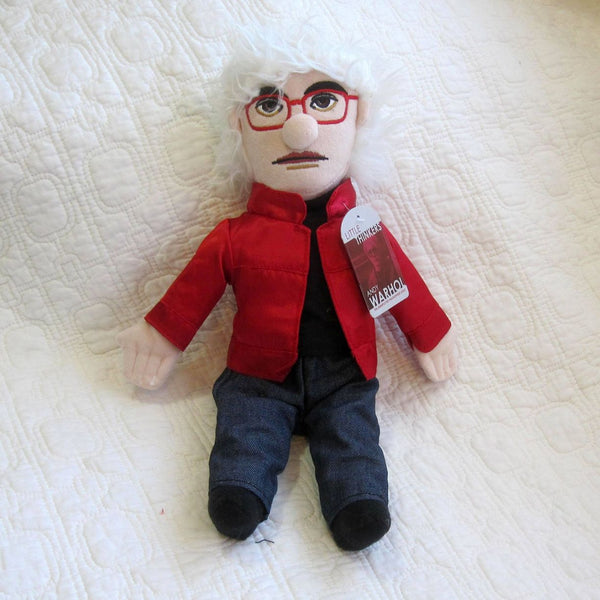 Warhol Fun Plush Doll by Unemployed Philosophers, Ages 7 - adult