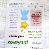 "Giotto's Angel ""Quotable Notable"" Greeting Card"