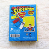 Superman Sticky Notes Booklet for Work or School, Ages 7 to Adult