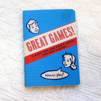 Great Games Passport-Sized Activity Notebook for ages 7 - adult