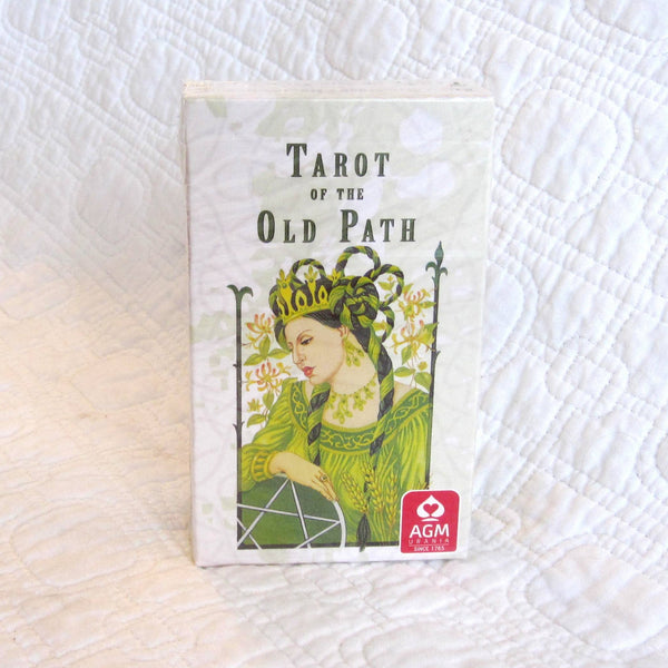 """Tarot of the Old Path"" Full Color 78-card Deck, Rich Symbolism"