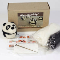 Felting Craft Kit, Create a Cute Panda, Ages 12 to Adult