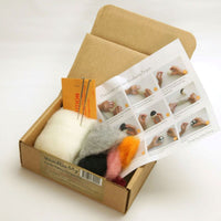 Felting Craft Kit, Create an Adorable Penguin, Ages 12 to Adult