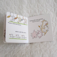 """Barnyard Dance!"" by Sandra Boynton Board Book, Ages 6 mo. - 4 yr."