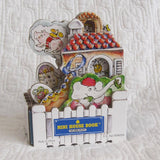 Mother Goose's House Mini House Board Book by Peter Lippman, Ages 1 - 5