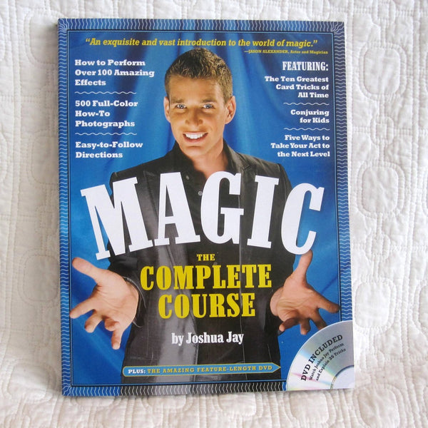 MAGIC, The Complete Course by Joshua Jay, Acclaimed Magician and Author, Ages 13 - Adult