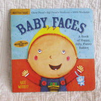 """Baby Faces"" Indestructible Baby Book, Fresh Graphics, 4 mo. - 24 mo."