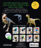 Eyelike Stickers: Dinosaurs, Vibrant Collection of 400 Reusable Stickers Book, Ages 4+