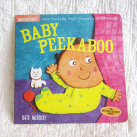 """Baby Peekaboo"" Indestructibles Book by Kate Merritt, Ages 4 mo+"
