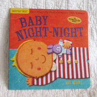 """Baby Night Night"" Indestructibles Book by Kate Merritt, Ages 4 mo.+"