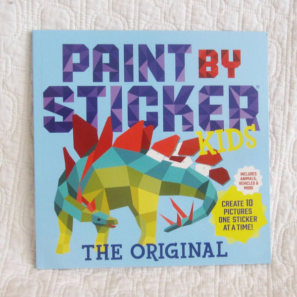 Paint by Sticker Kids, The Original: Create 10 Pictures One Sticker at a Time, Ages 5+