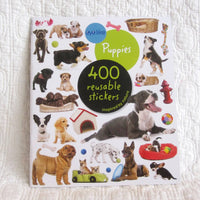 Eyelike Stickers: Puppies, Collection of 400 Loveable and Realistic, Reusable Stickers Book, Ages 4+
