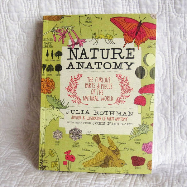 Nature Anatomy: The Curious Parts and Pieces of the Natural World Paperback Book