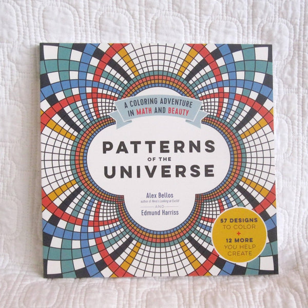 Patterns of the Universe: A Coloring Adventure in Math and Beauty, Fascinating and Soothing