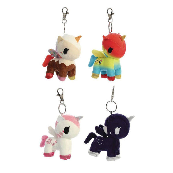 Adorable Magic Ponies by tokidoki, Unicorno Plush Clip-ons, Series 3, Ages 5 - Adult