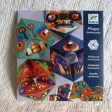 "Origami Transforming ""Kaleidocycle"" Monsters, French Design by Djeco, Ages 7+"