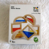 Plan Toys Water Blocks Building & Color Mixing Toy, Sustainably Made, Ages 3+