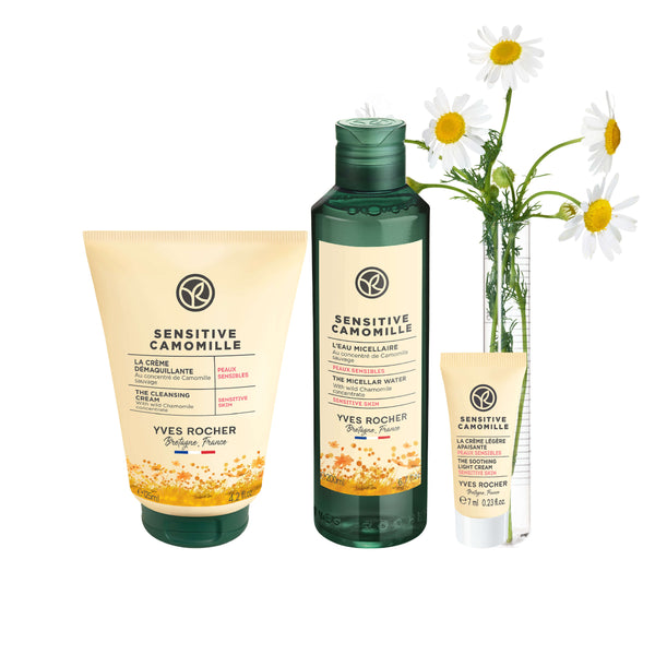 Sensitive Camomille Cleansing Trial Set