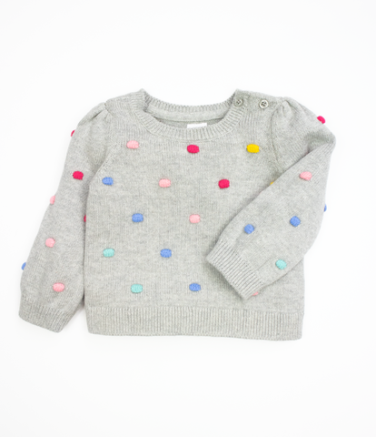 Grey Bobble Jumper
