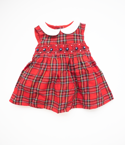 9-12 M Traditional Collared dress