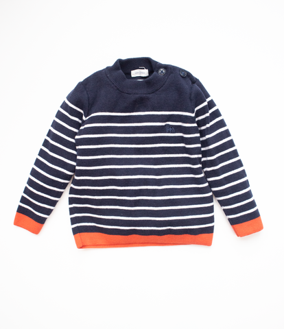 2-3 Y Striped Jumper