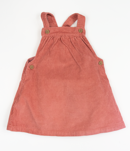 Autumnal Pinafore Dress