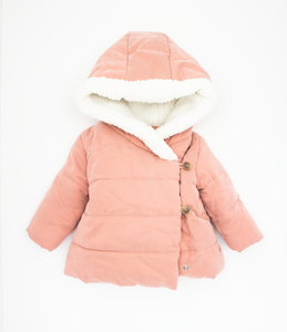 Padded soft cotton coat