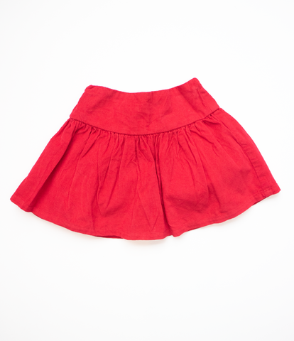 6-12 M Red Cord Skirt