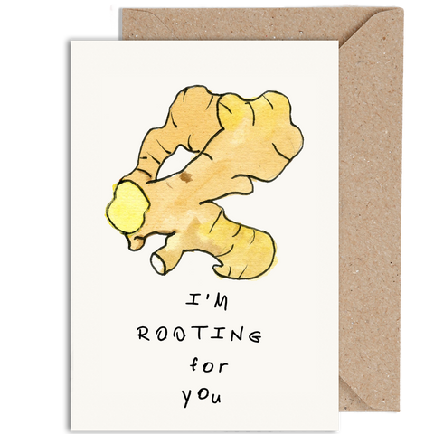I'M ROOTING FOR YOU