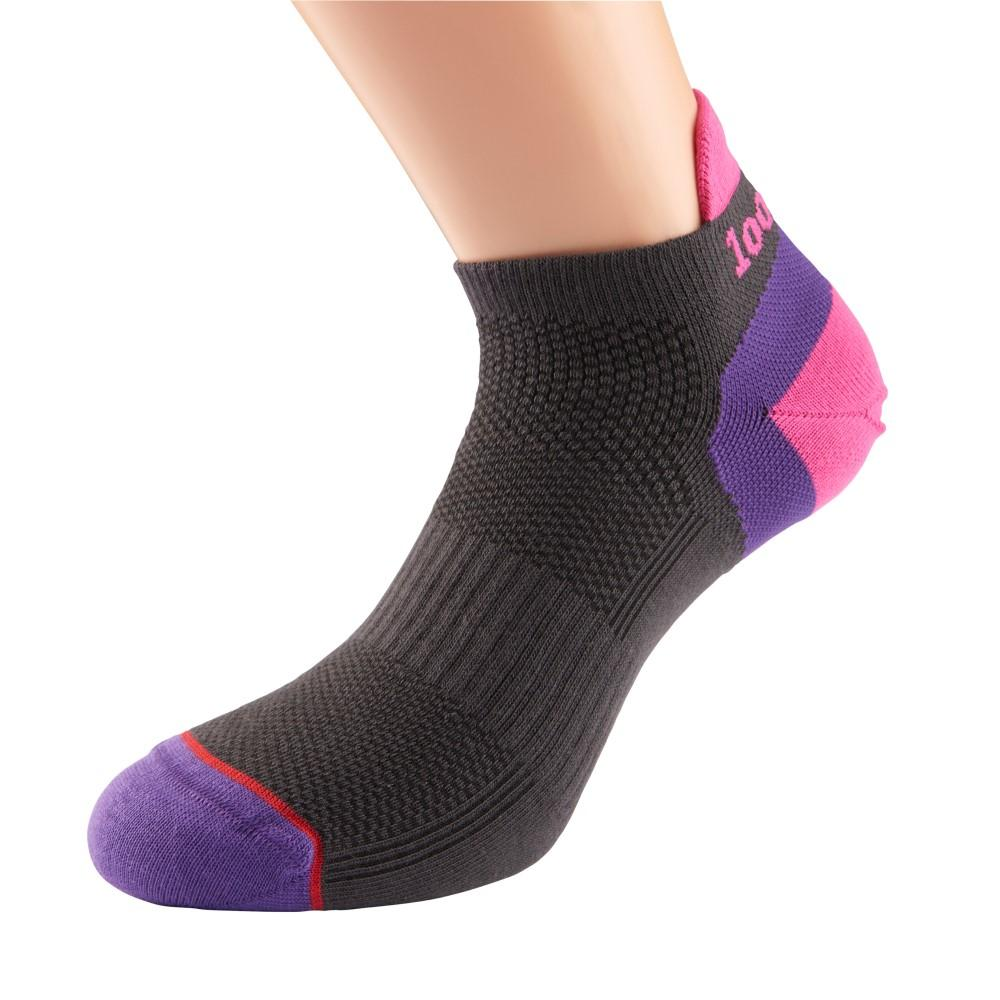 1000 Mile Double Layer Liner Womens Running Socks Pink
