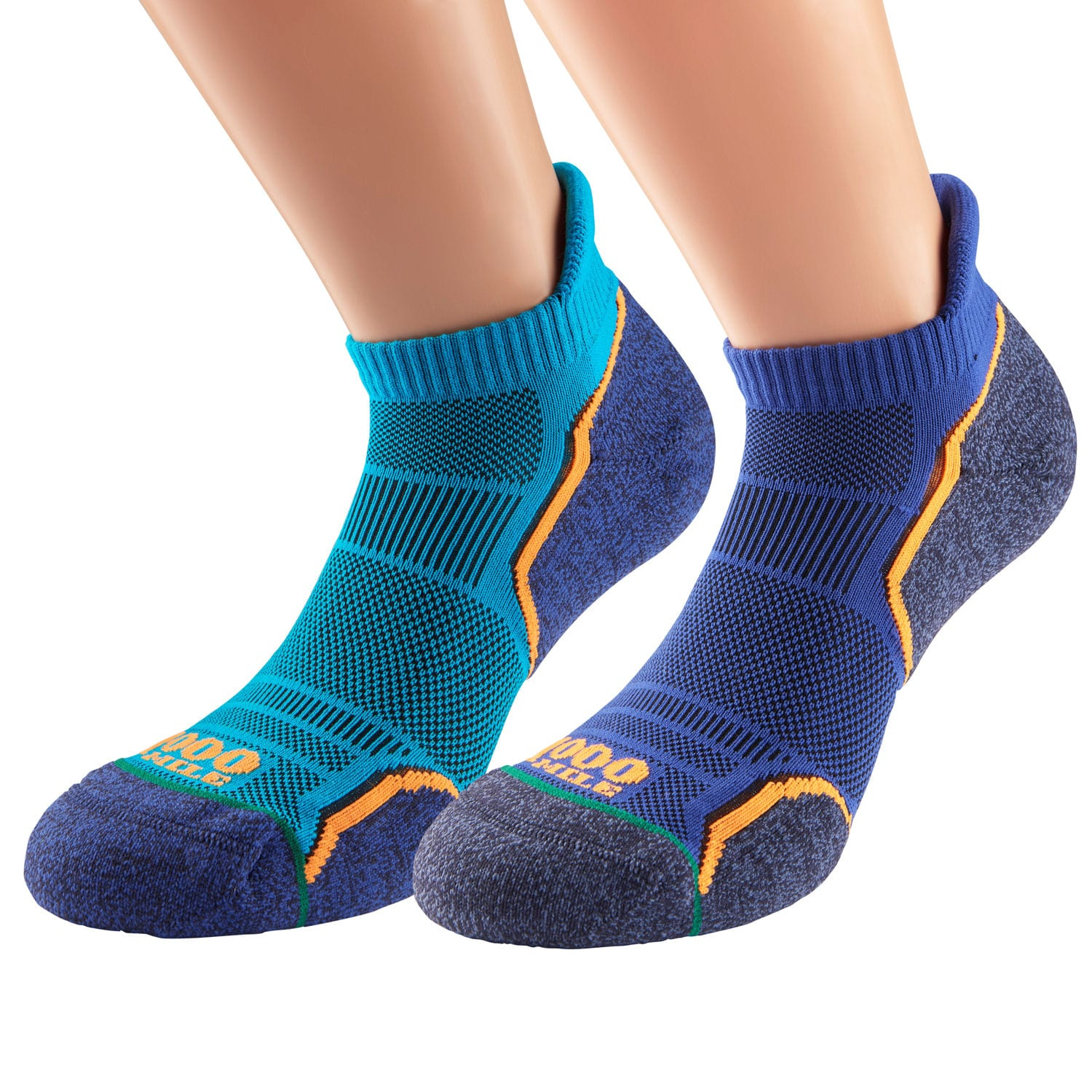 Men's Run Socklet Twin Pack