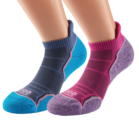 Women's Run Socklet Twin Pack