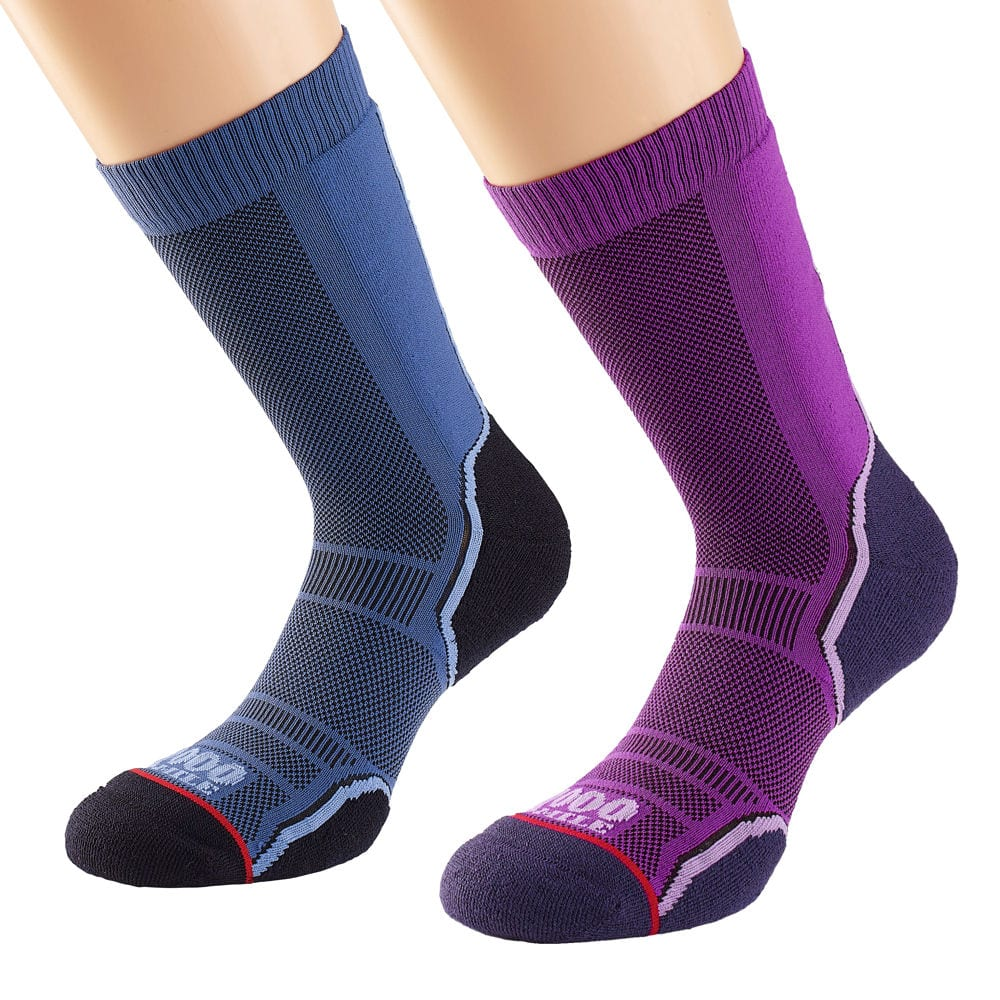 Women's Trek Single Layer Sock Twin Pack