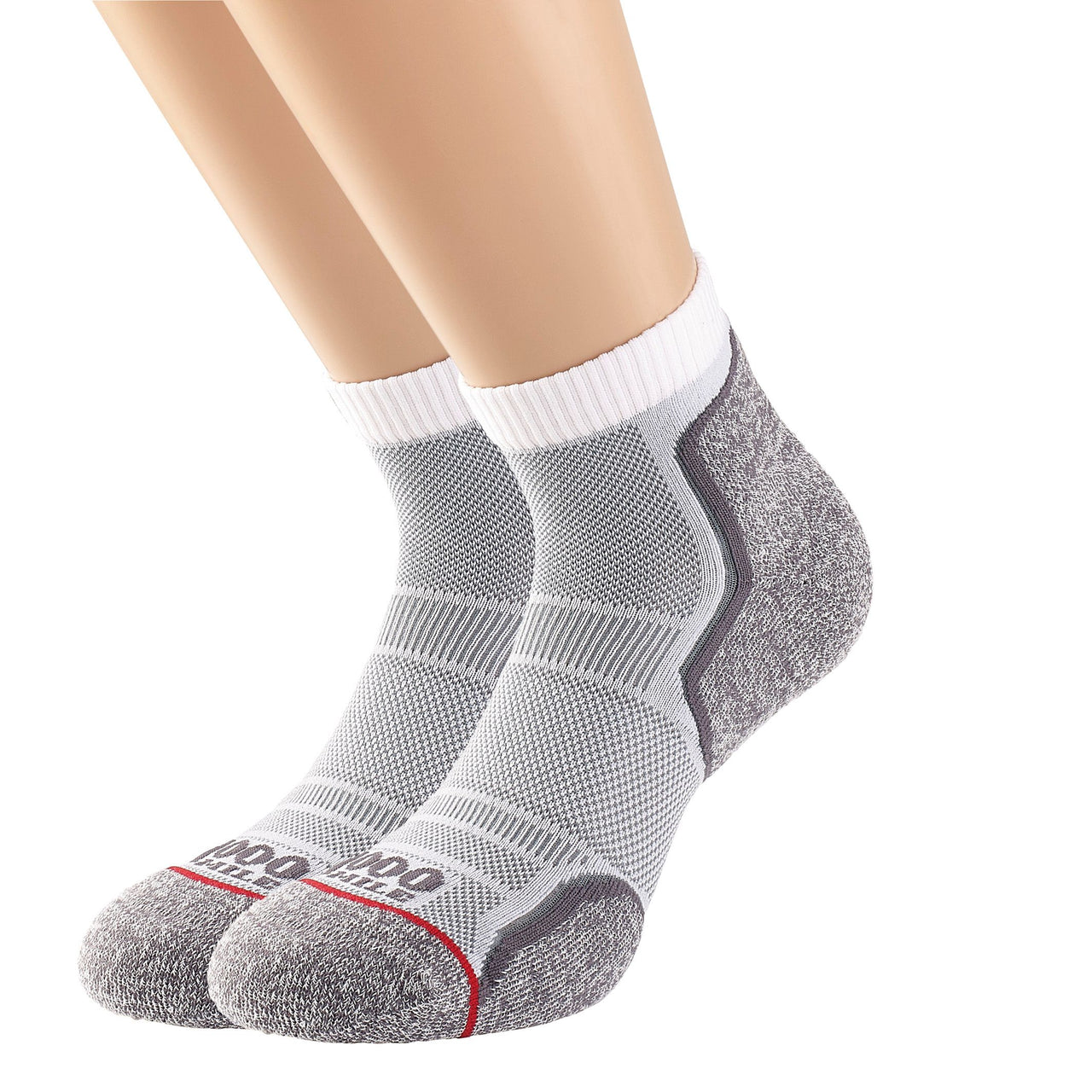 Men's Run Anklet Single Layer Sock Twin Pack