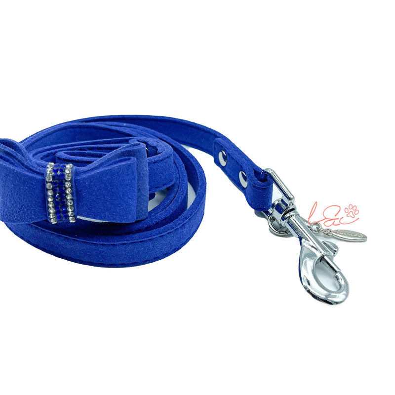 BLUE SOFT BOW LEASH