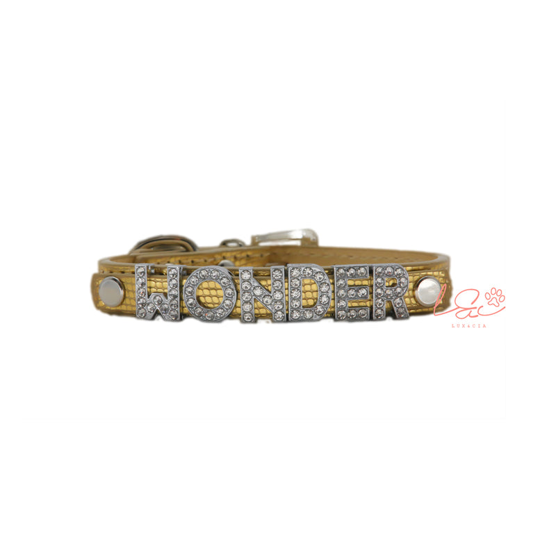GOLDEN SHINE PERSONALIZED COLLAR