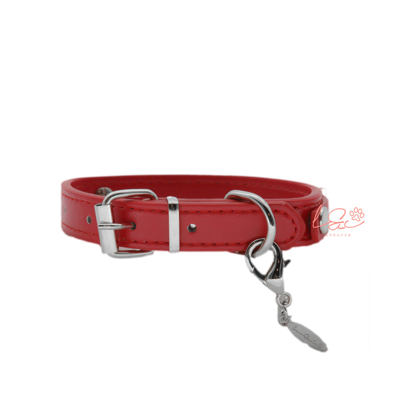 RED PERSONALIZED COLLAR
