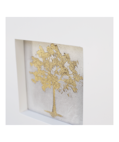 Cuadro Set Gold Tree