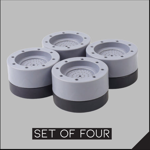 Shock And Noise Cancelling Washing Machine Support (4pcs)