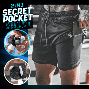 2 in 1 Secret Pocket Short 1688
