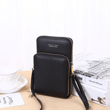 Load image into Gallery viewer, 2020 New Cell Phone Crossbody Bag for Women 1688 Black