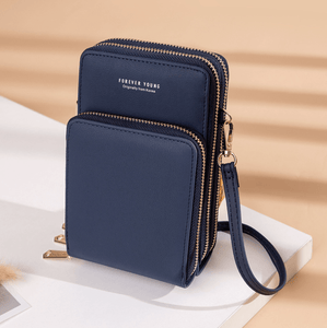 2020 New Cell Phone Crossbody Bag for Women 1688 Blue