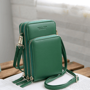2020 New Cell Phone Crossbody Bag for Women 1688 Green