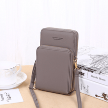 Load image into Gallery viewer, 2020 New Cell Phone Crossbody Bag for Women 1688 Grey