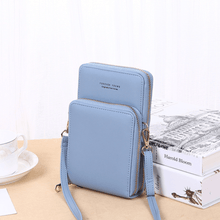 Load image into Gallery viewer, 2020 New Cell Phone Crossbody Bag for Women 1688 Light Blue